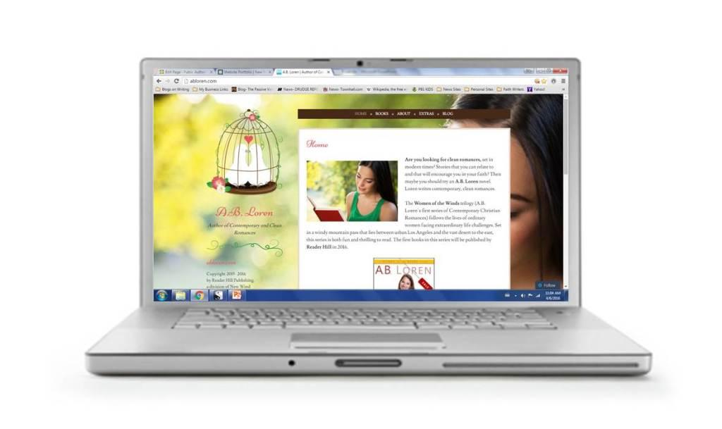 A B Loren author website