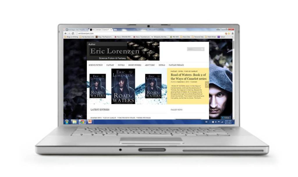 Website Designing- Eric Lorenzen website