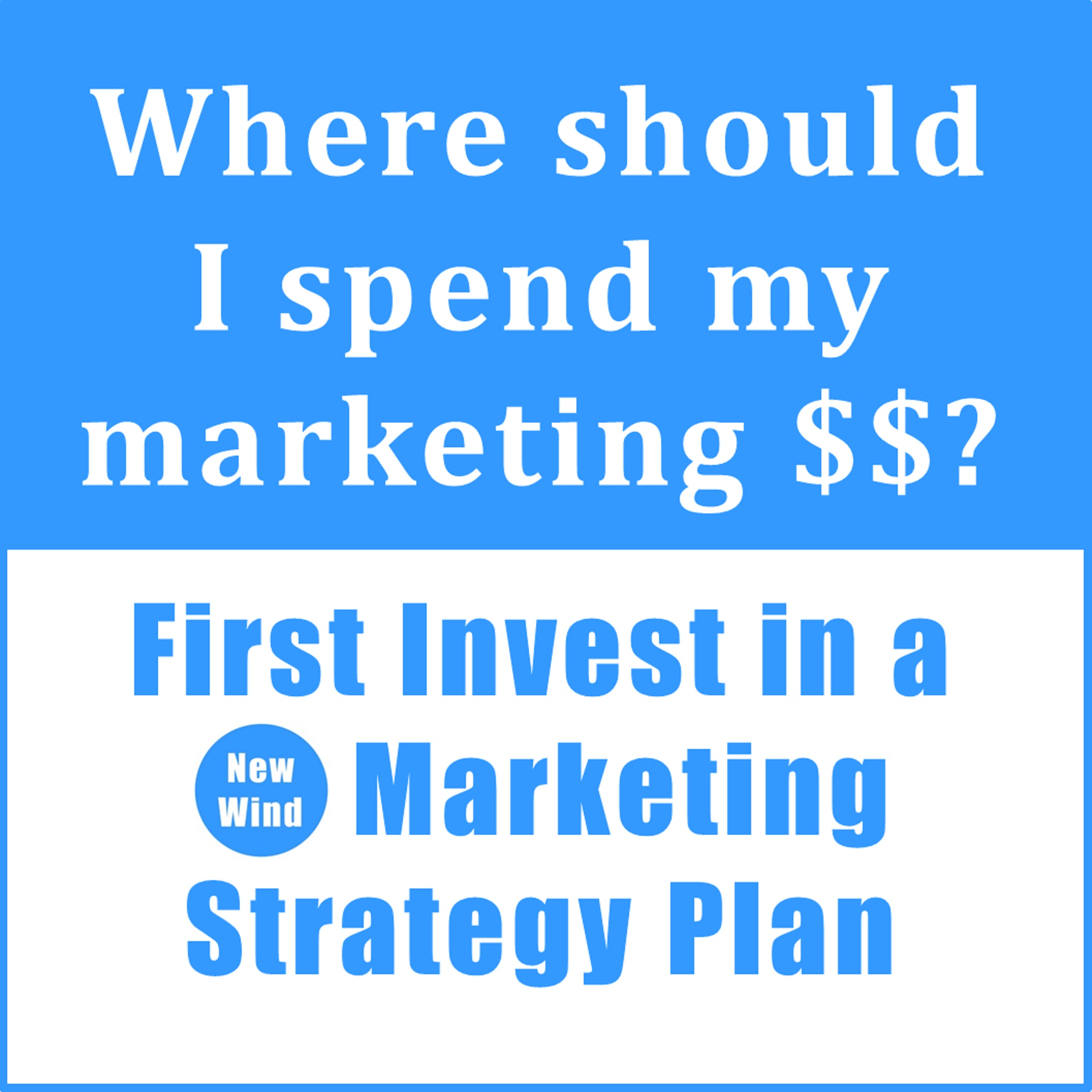 Get a Marketing Plan
