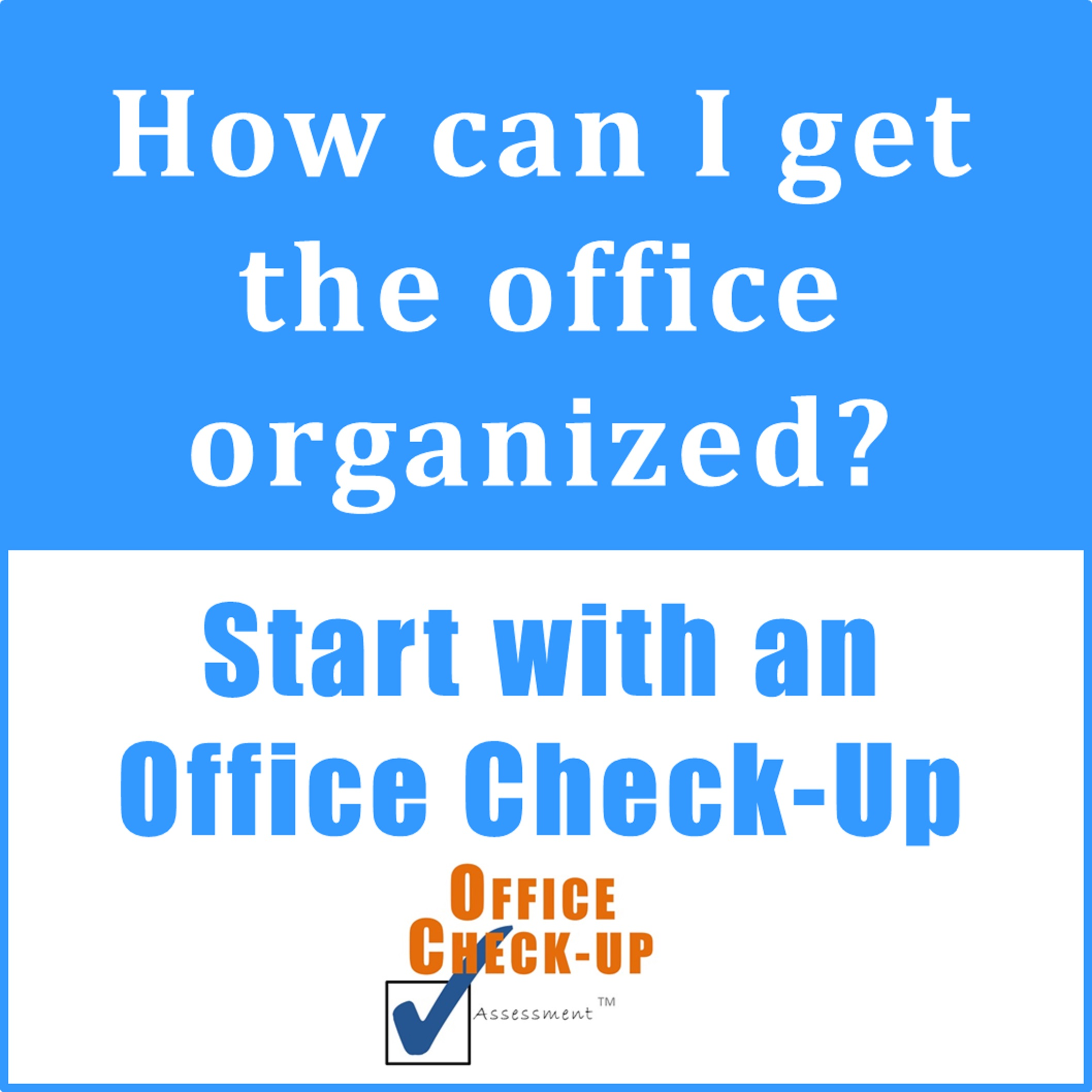Get More Organized