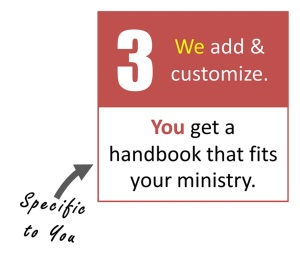 Customized Church Manuals
